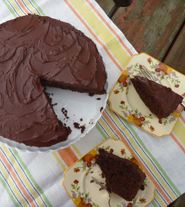David Herbert's chocolate fudge cake