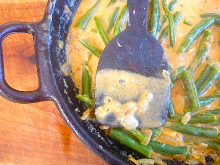 ... louie on serious risotto with green beans bihari green beans masala
