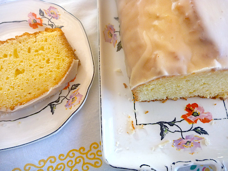 Ina Garten's lemon and buttermilk pound cake