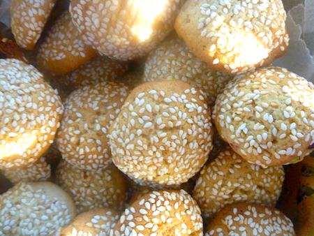 Bazarek  crucnhy seasame and pistachio cookies
