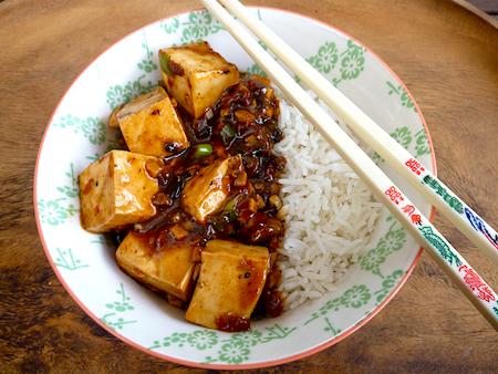 Fuchsia Dunlop's vegetarian mapo tofu