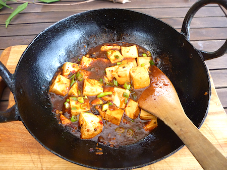 tofu and sugar snap peas vegetarian mapo tofu with peas recipes