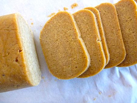 Ginger snap dough