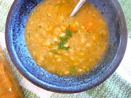 Swedish yellow split pea soup – The Back Yard Lemon Tree