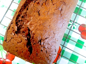 Simple French Chocolate loaf cake