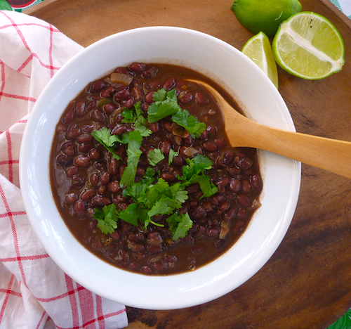 Spicy, citrusy black beans – The Back Yard Lemon Tree