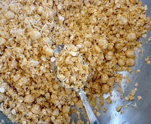 Unbaked Granola