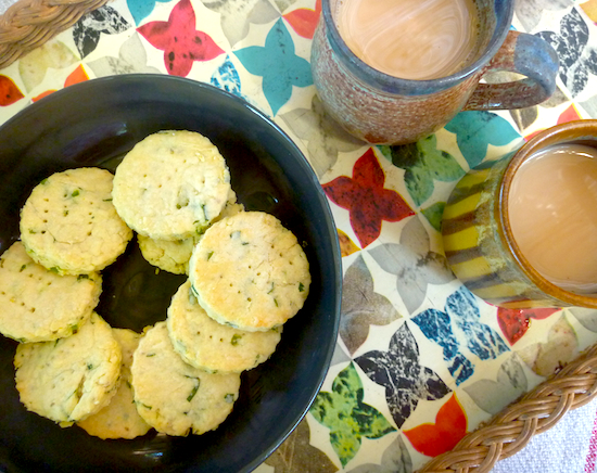 Khara biscuits (Indian spicy, savory shortbreads)