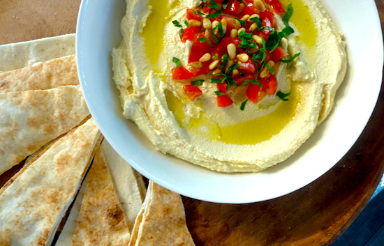 best creamy hummus #vegan