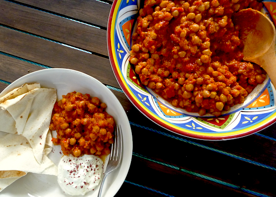 Yotam Ottolenghi's slow cooked chickpeas #vegan #mains