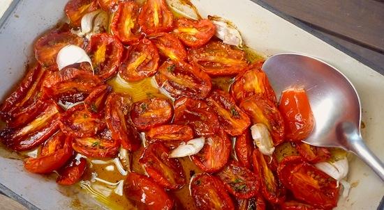 Slow roasted cherry tomato sauce – The Back Yard Lemon Tree