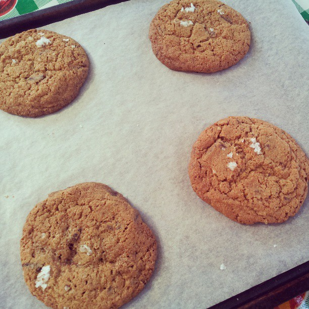 Kim Boyce's wholemeal chocolate chip cookies