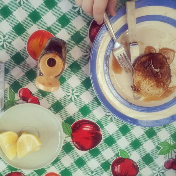 Kim Boyce's oatmeal pancakes