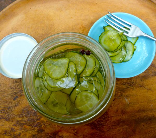 Marcus Samuelsson's quick cucumber pickles