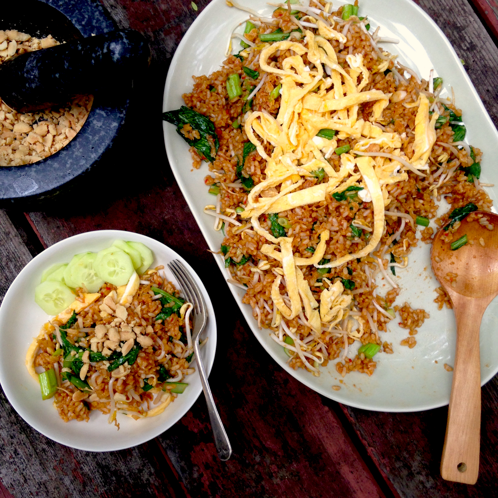 Asian rice dish goreng pics
