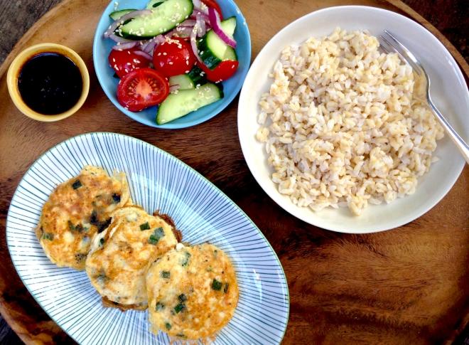 Tahu Telur - Indonesian tofu omelettes #vegetarian