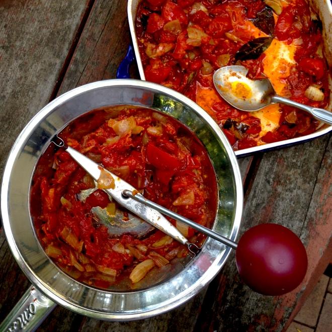 Roasted tomato sauce #autumn #vegan