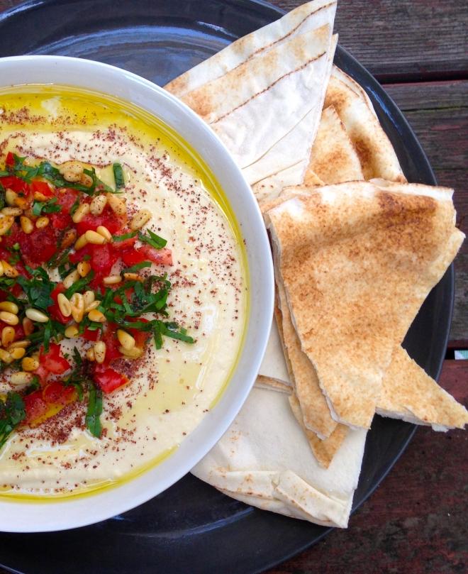 Zahav's super creamy Hummus #vegan #Israeli