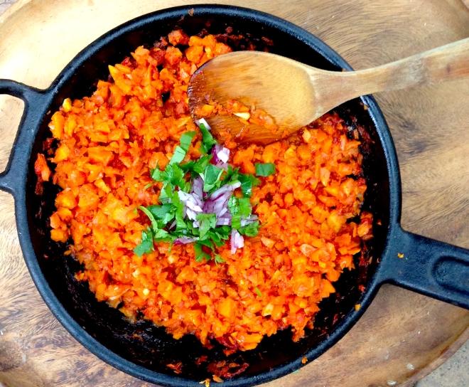 Carrot sofritto #vegan #TexMex #recipe