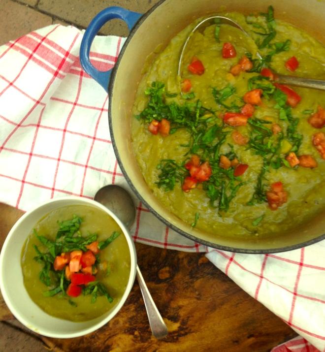 Best split pea soup #vegan #recipe