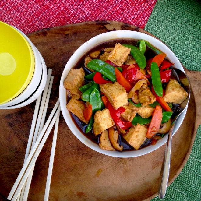 Cantonese braised tofu #vegan