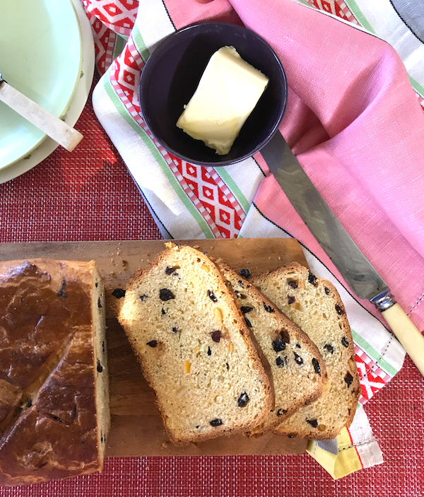 Saffron fruit loaf #Easter #baking