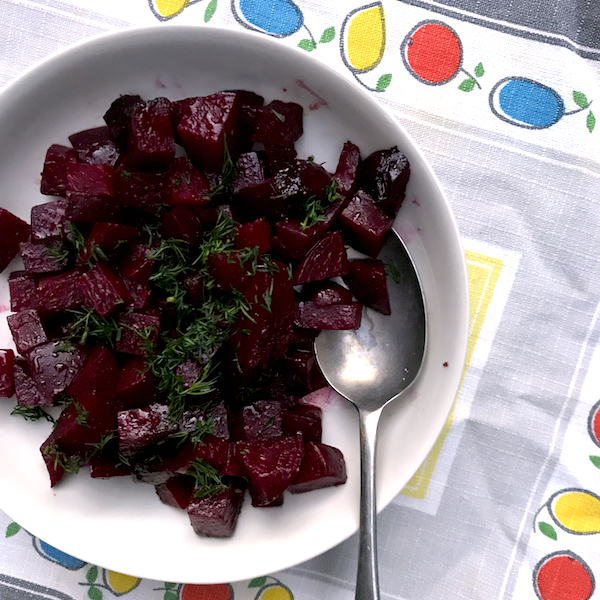 Russian beetroot #vegan #vegetarian #side
