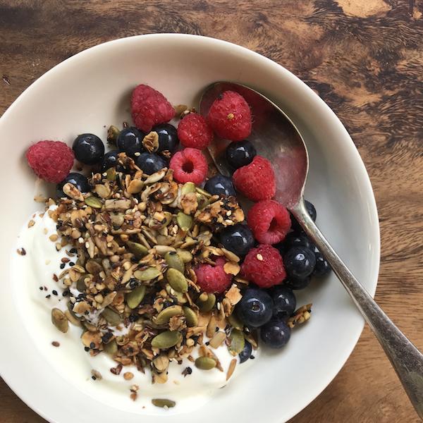Alison Roman's savory granola